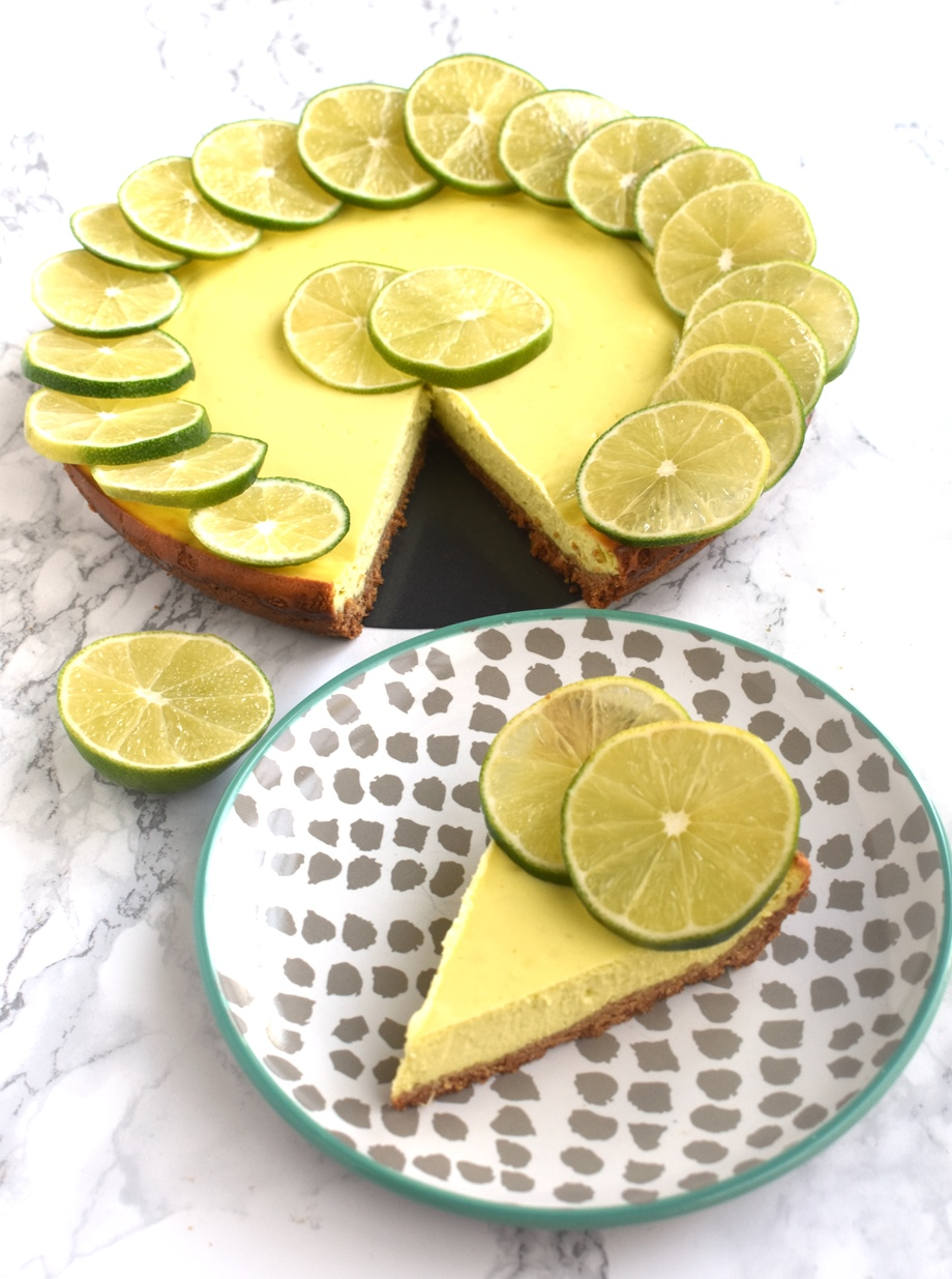 key lime yogurt cheesecake