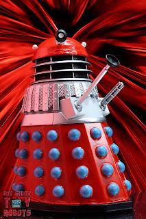 Custom 'Mutation of Time' Red Dalek 02