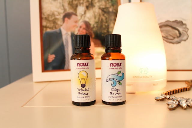 Now Essential Oil Blends - Mental Focus & Clear the Air