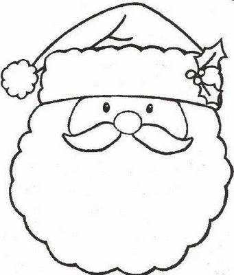 30 Desenhos De Papai Noel Para Colorir Cantinho Do Educador Infantil