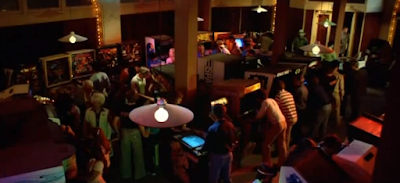 Flynn's Arcade en la película Tron - 1982