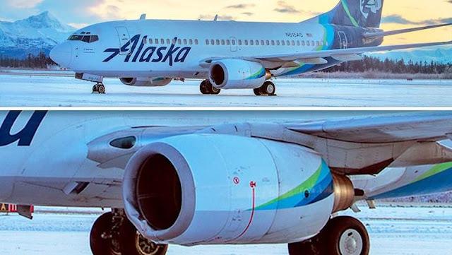 Maskapai Alaska Mendarat Darurat Gegara Pramugari Lihat Percikan Api