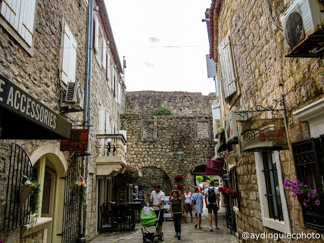 Streets of Budva Old Ciy V
