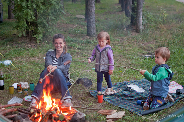 wakacje pod białowieżą, podlasie z dzieckiem, namiot