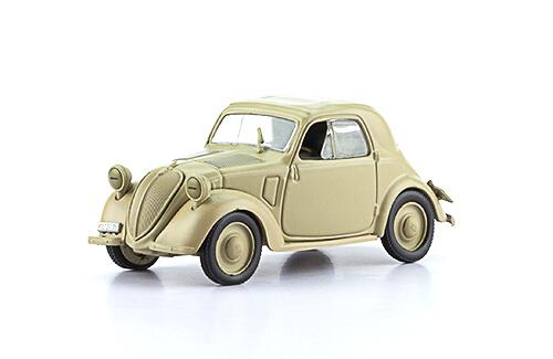 FIAT 500 A TOPOLINO 1:43, voitures militaires de la seconde guerre mondiale