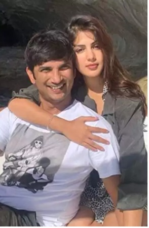 Sushant and Rhea During Happy Moments