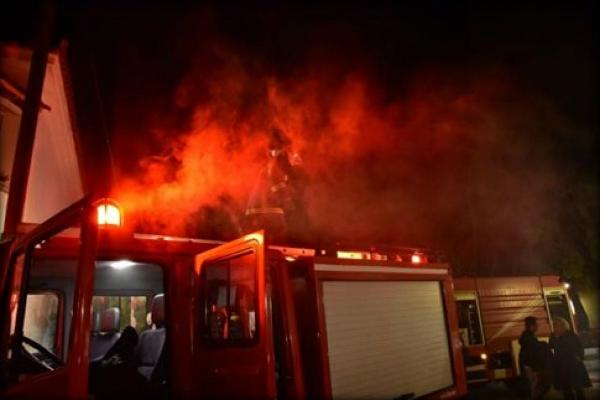 Φωτιά σε οικία στην Μεγάλη Παναγία