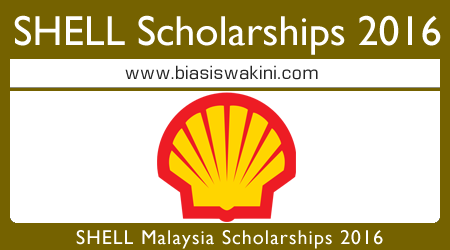 Shell Malaysia Scholarships 2016 - Biasiswa Shell Local & Overseas