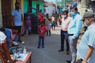 dc-jamshedpur-visit-quarentine-center