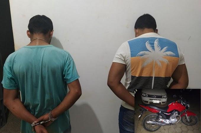 Dois homens são presos em Jaru com moto roubada em Machadinho