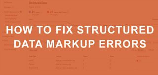 how to fix structured error microdata blogger template