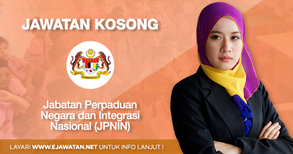 jawatan kosong kerajaan Jabatan Perpaduan Negara dan Integrasi Nasional (JPNIN) 2020