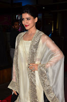 Samantha Ruth Prabhu cute in Lace Border Anarkali Dress with Koti at 64th Jio Filmfare Awards South ~  Exclusive 007.JPG