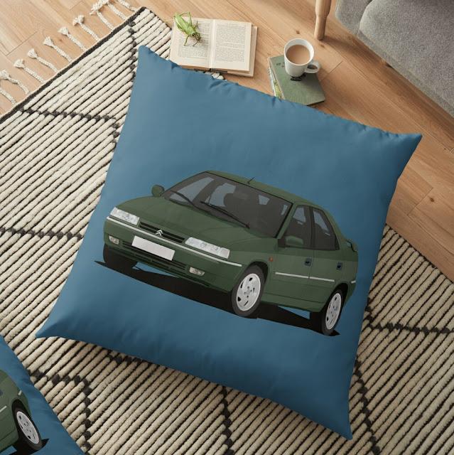 Citroën Xantia tyyny