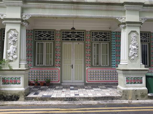 shop house (case coloniali) di Petain road-Singapore