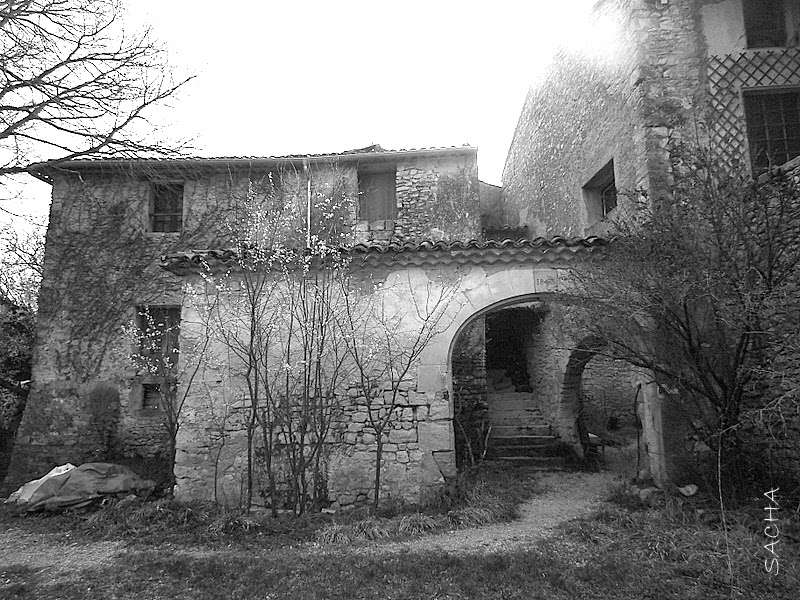 Chemins et jardins blog rando et balade hameau les craux dans les alpes de haute provence - Les jardins de provence 77 ...