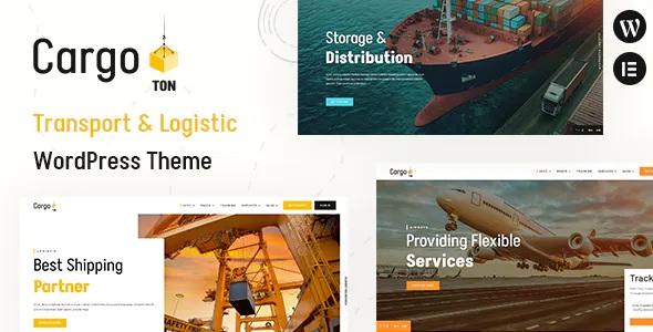 Best Transport & Logistic WordPress Theme