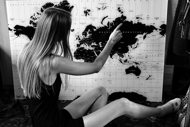 Mijn reis verhaal travel story over angst alleen reizen wanderlust en wereldkaarten