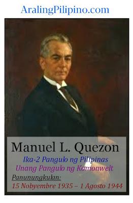mga pangulo ng Pilipinas manuel l quezon talambuhay