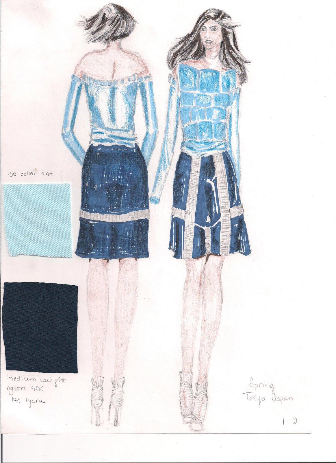 FIT Fashion Student Portfolio: Design Test