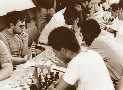 Sergi Picatoste en el XX Torneo Internacional de Berga 1986