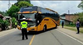 Satgas Covid-19 Muaro Jambi Perketat Pintu Masuk Provinsi Jambi, 4 Bus Putar Balik