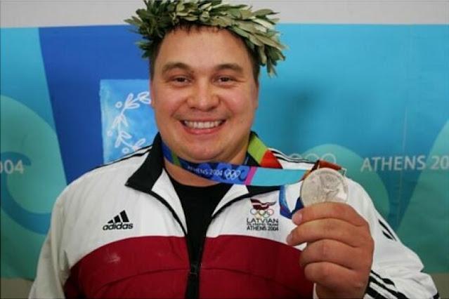 Виктор Щербатых (Viktors Ščerbatihs) олимпиец сборной Латвии