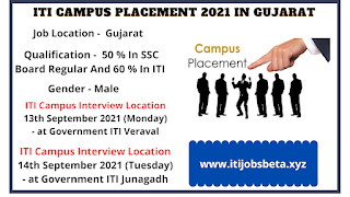 ITI Campus Selection Govt ITI Veraval And Junagadh Gujarat