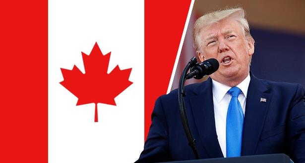 "Trump announces closing borders with Canada to the ""non-essential"" movement"