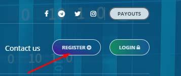Регистрация в Albiton