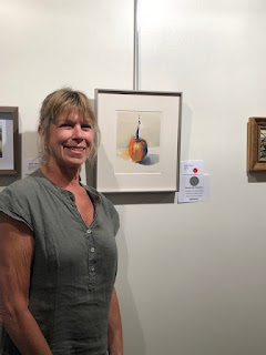 Susan Plume watercolor receives honorable mention at Morini Gallery Art Exhibit