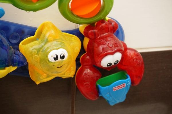 zabawki kąpielowe ikea i fisher price