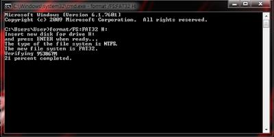 Cara Memperbaiki Flashdisk Yang Tidak Bisa Diformat di Windows XP