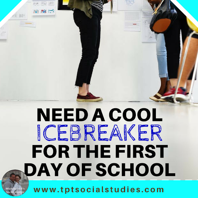 Start off the school year with these easy back to school or first day of school icebreaker ideas for building an effective collaborative classroom climate at the middle or high school level. And they are fun for students, too!  The first one is my favorite!
