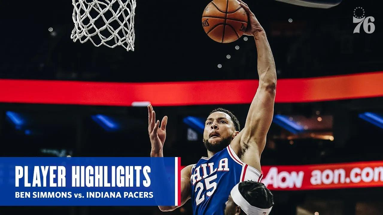 Ben Simmons 18pts 6reb vs IND | March 1, 2021 | 2020-21 NBA Season
