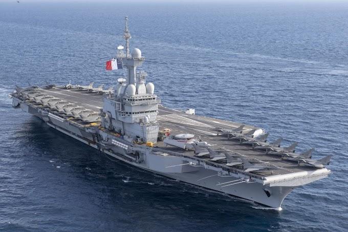 Η Γαλλία στέλνει αεροπλανοφόρο στην ανατολική Μεσόγειο