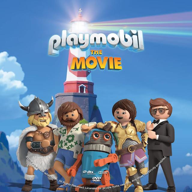 Playmobil The Movie DVD Label