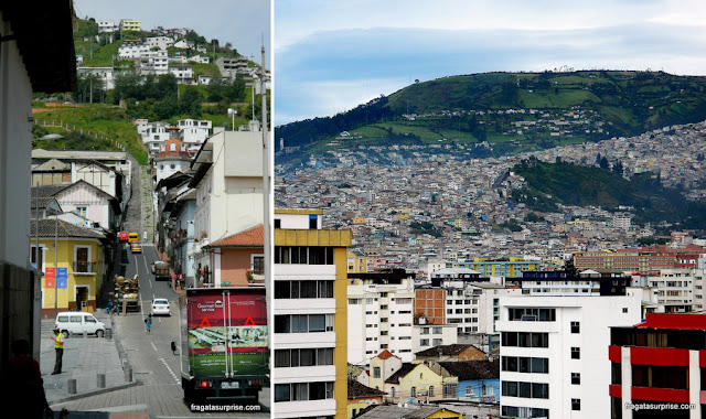 Ladeiras de Quito, Equador