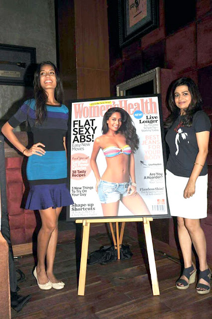 Lisa Haydon unveil the Women's Health magazine's