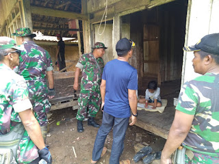 Dandim 0622 Letkol Arm Suyikno S. Sos Cek Sasaran Fisik Bakti TNI Anggaran Tahun 2020