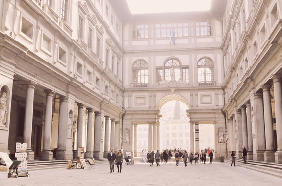 2 days in Florence uffizi gallery