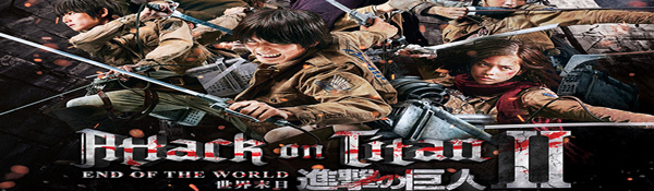 The Movie Sleuth: Cinematic Releases: Attack on Titan: Part 2
