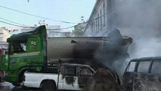 Kapal Tanker Tabrak 15 Mobil di Jalanan, 22 Jamaah Syiah Tewas, 70 Orang Terluka