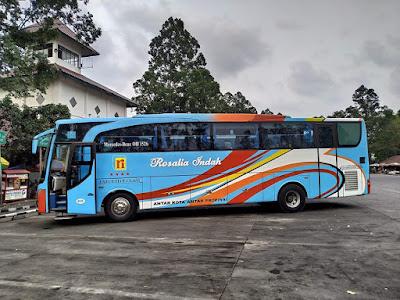 Foto Bus Rosalia Indah 613
