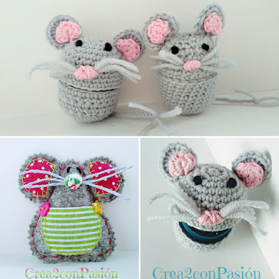Ratón-Pérez-dos-versiones-crochet-y-fieltro-Crea2-con-Pasión