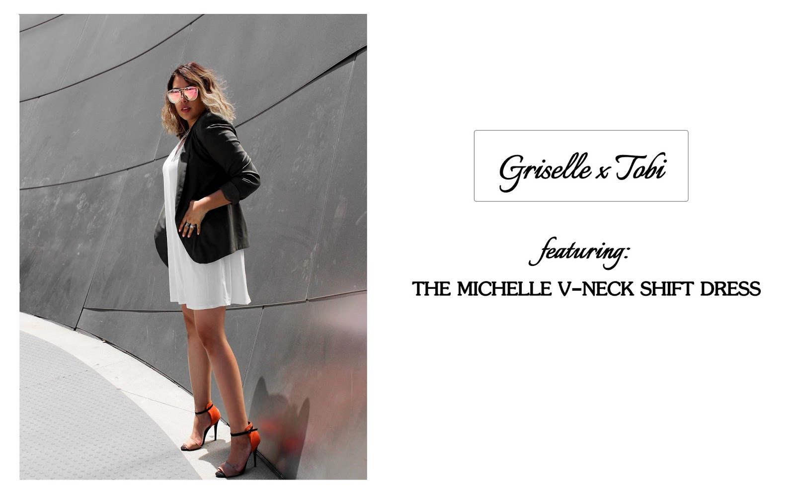 Griselle X Tobi | The Little White Dress (LWD)
