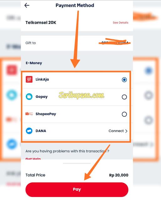 Cara Berbagi atau kirim Pulsa telkomsel