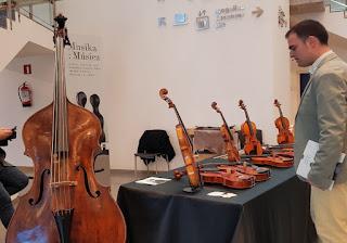 Violin Musika Musica Bilbao concert