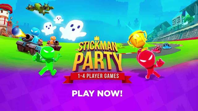 Stickman Party V1.9.5 MOD APK – PARA HİLELİ