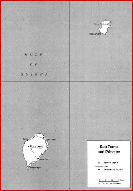 Gambar Peta letak Sao Tome dan Principe